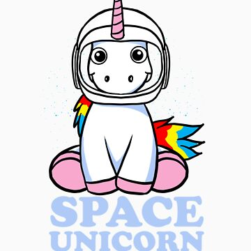 Space Unicorn gift by LikeAPig