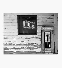 Bar Photographic Print