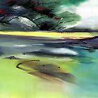 Yellow Lake by Anil Nene
