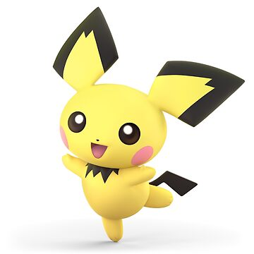 Super Smash Bros. Ultimate - Pichu by overflag