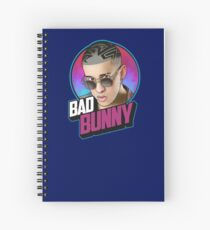 BAD BUNNY Spiral Notebook