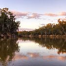 Dusk on the Murray River, NSW by Christine Smith