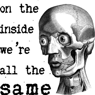On the inside we are all the same by radesigns2
