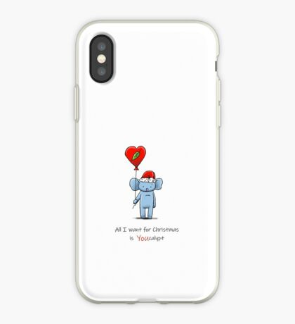 All I Want For Christmas is You (Eucalypt) iPhone Case