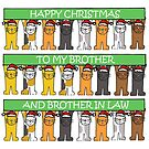 Happy Christmas to Brother and Brother in Law. by KateTaylor