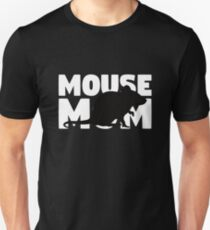 Mouse Mom T-Shirt Mouse Lover Gift for Mother Pet Animal Tee Unisex T-Shirt