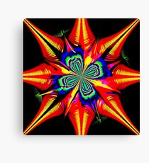 Star of wonder Canvas Print