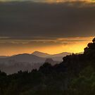Hazy winter sunrise........ by Roy  Massicks