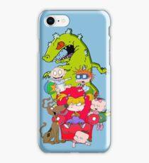 rug rats iPhone Case/Skin