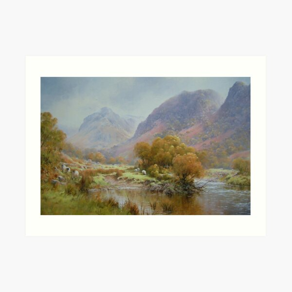 Borrowdale 2, Cumbria, England Art Print