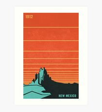New Mexico Art Print