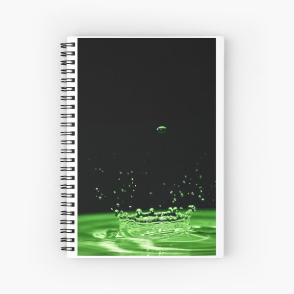 Water Crown Spiral Notebook