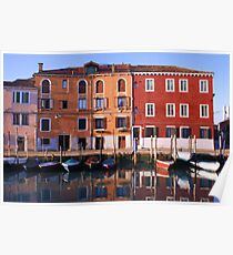 Reflections of Murano Poster