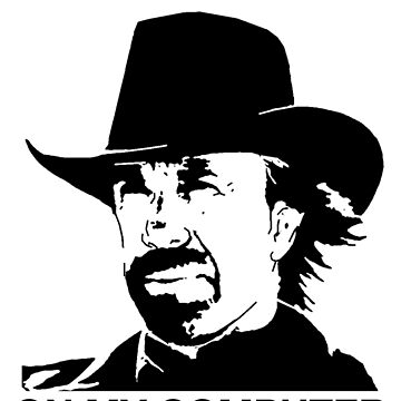 Chuck Norris is tough funny shirt by SOpunk
