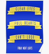 Clear Eyes Poster
