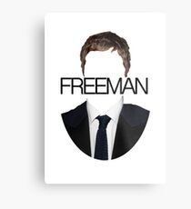 Martin Freeman Metal Print