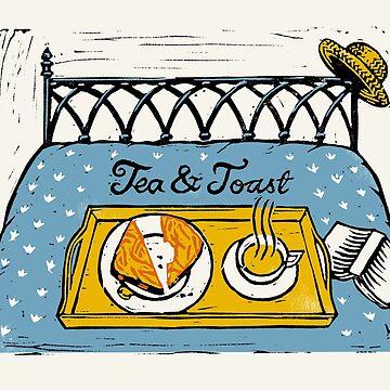 Tea & Toast by wonder-webb