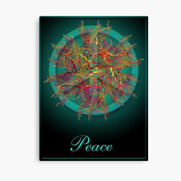 Peace :) Canvas Print