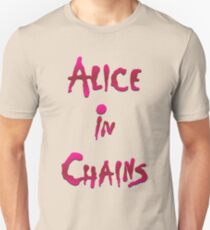 Alice in Chains - Big Logo Grunge Unisex T-Shirt