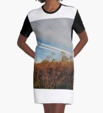 Autumn, Calvert Vaux Park, New York City, Brooklyn #Autumn #CalvertVauxPark, #NewYorkCity, #Brooklyn, Bay 44th St. &, Hunter Ave, Brooklyn, NY 11214, USA Graphic T-Shirt Dress