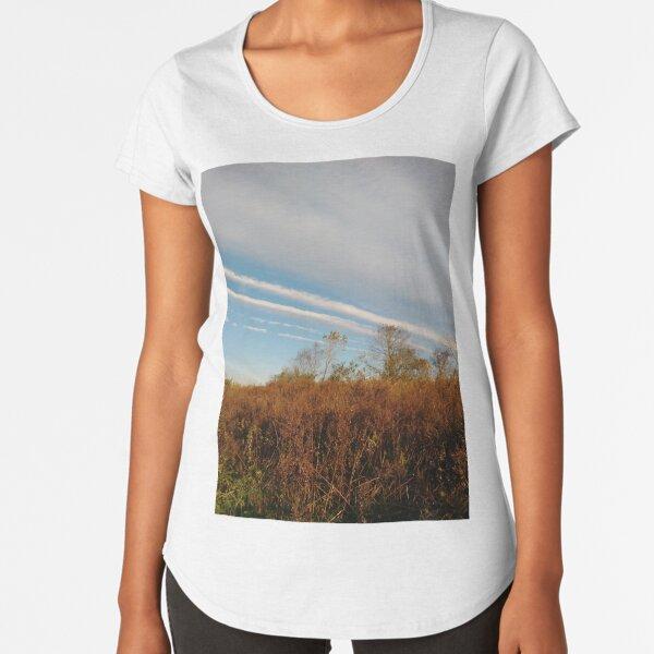 Autumn, Calvert Vaux Park, New York City, Brooklyn #Autumn #CalvertVauxPark, #NewYorkCity, #Brooklyn, Bay 44th St. &, Hunter Ave, Brooklyn, NY 11214, USA Premium Scoop T-Shirt
