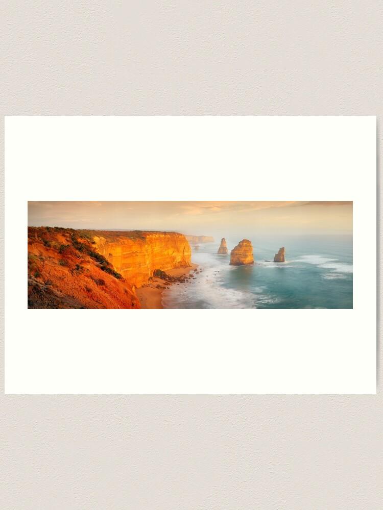 Alternate view of Golden Light Twelve Apostles, Victoria, Australia Art Print