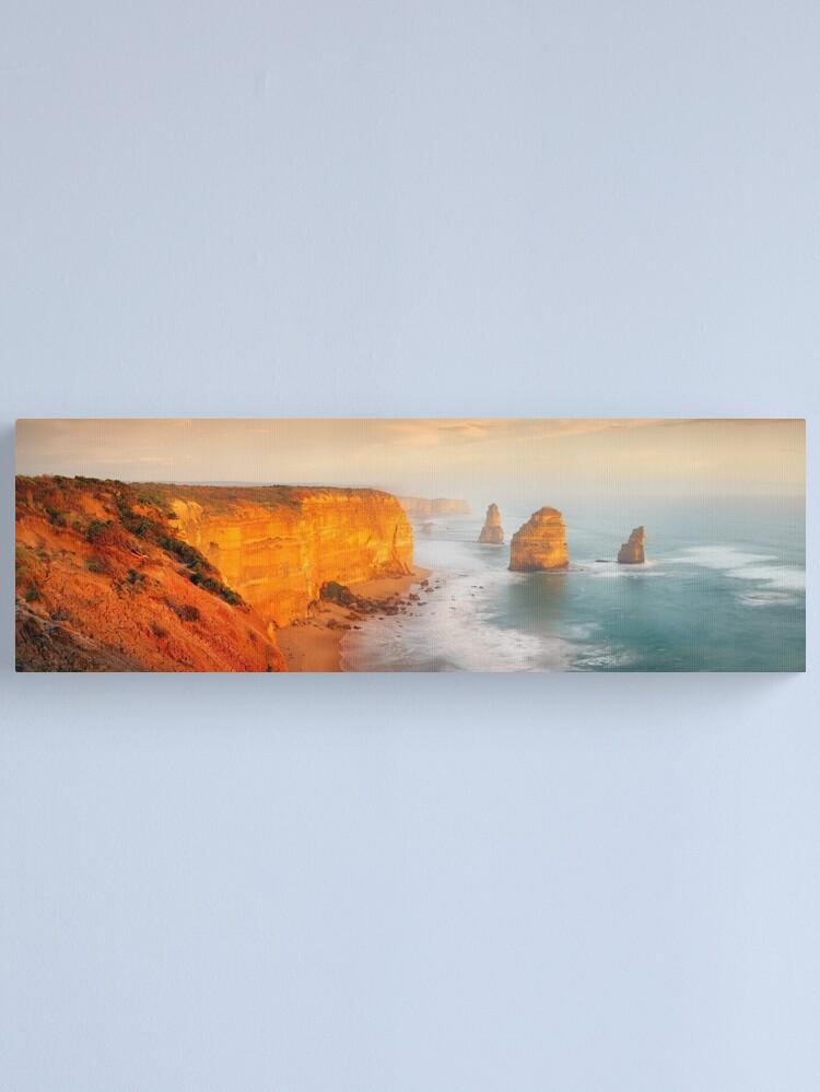 Alternate view of Golden Light Twelve Apostles, Victoria, Australia Canvas Print