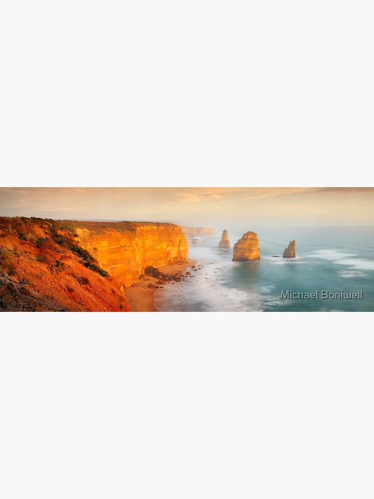 Golden Light Twelve Apostles, Victoria, Australia by Chockstone