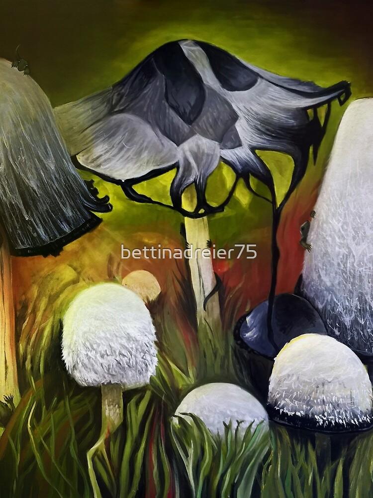 Mushrooms by bettinadreier75