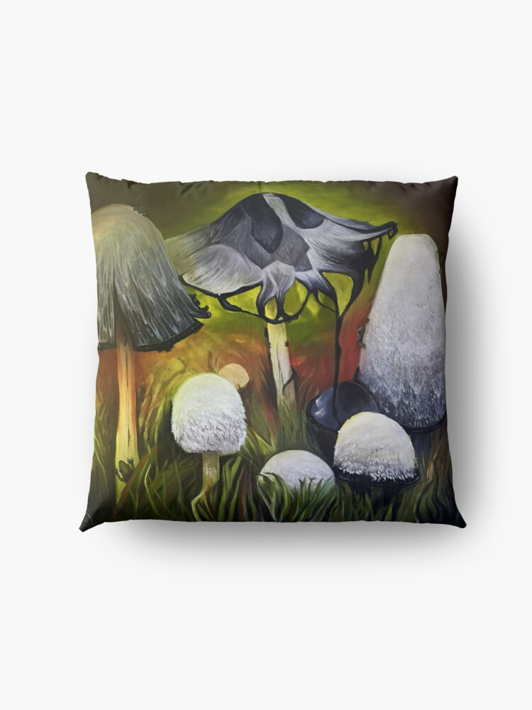 Alternate view of Mushrooms Floor Pillow