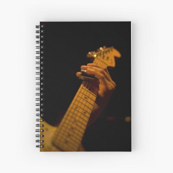 Slide Guitar Spiral Notebook