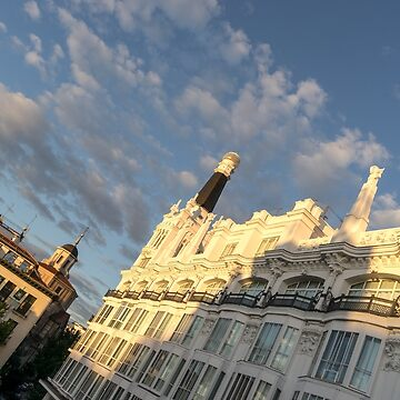 Gallivanting Around Madrid is a Pure Delight - Plaza de Santa Ana Morning by GeorgiaM