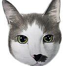 Corbin The Cat  by Artwork by Joe Richichi
