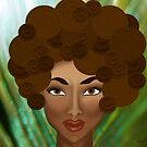 My Inner Nubian Goddess by Lisa Knechtel