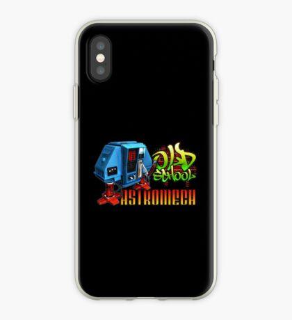Old School Astromech - Back iPhone Case