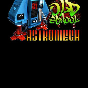 Old School Astromech - Back by JWWright