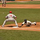 Pickoff Move to 1st Base by Buckwhite