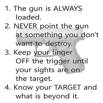 Gun Safety Rules Keep You Safe When Shooting by teakastreasures