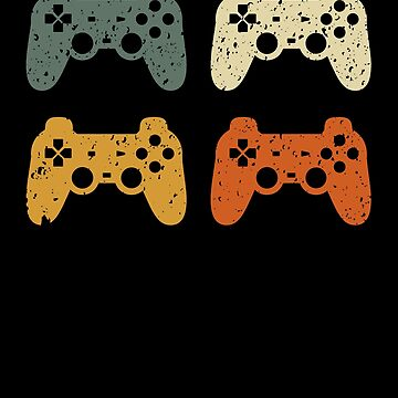 Classic Vintage Style Gamer T-Shirt Gaming design for teenagers, Online gaming Fans by reallsimplelife