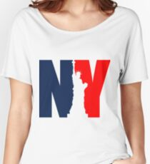 NY Liberty Women's Relaxed Fit T-Shirt
