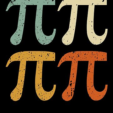 Classic Vintage Style Pi Day Algebra Maths T-Shirt by reallsimplelife