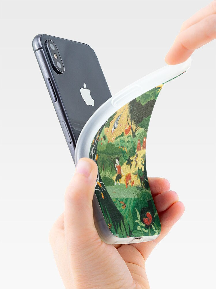 Alternate view of It's a jungle out there iPhone Case & Cover