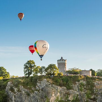 Balloons over the Observatory  by CarolynEaton