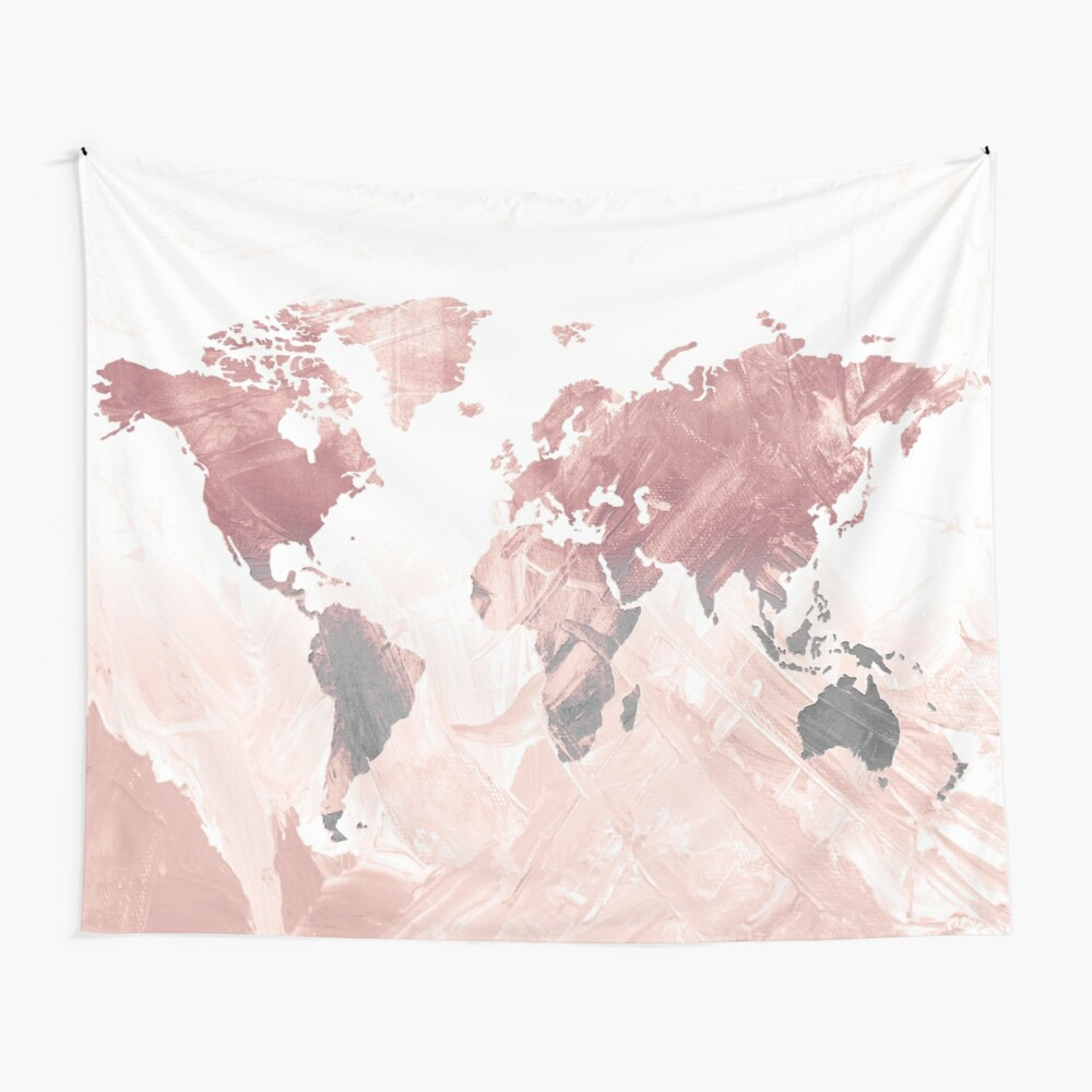 MAP-Freedom vibes worldwide  IΙ Wall Tapestry