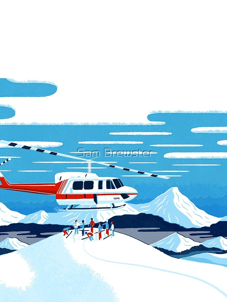 Heli drop-off back country paradise by sambrewster