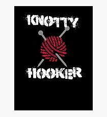 Knotty Hooker Photographic Print