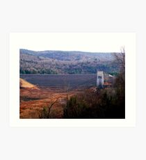 Knightville Dam Art Print