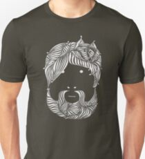 Furry Friend (white ink edition) Unisex T-Shirt