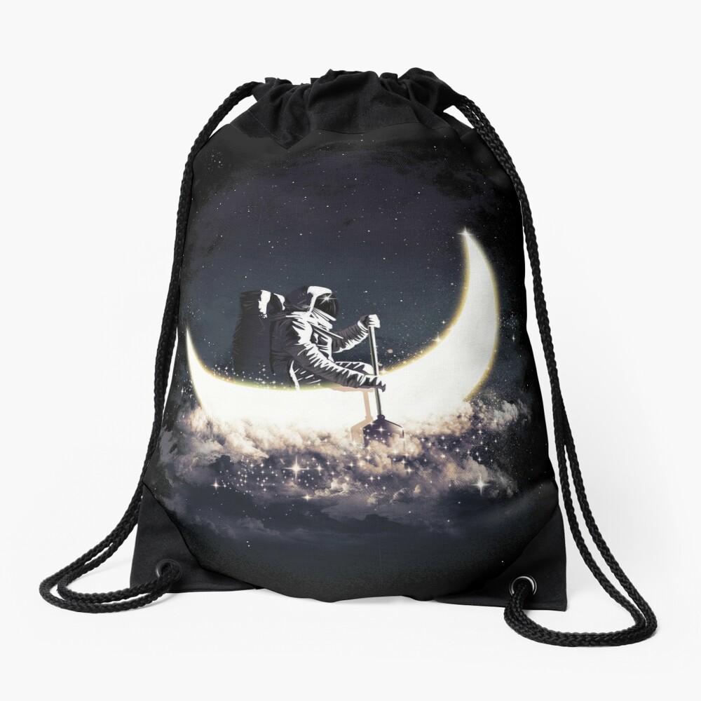Mond Segeln Rucksackbeutel