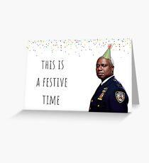 Brooklyn Nine Nine Captain Holt Karte / Aufkleber, Becher, Geburtstag, Jubiläum, Muttertag, Vatertag, Abschlussfeier, festlich Grußkarte